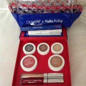 COLOURPOP X HELLO KITTY Face Kit, Lipsitck, Case
